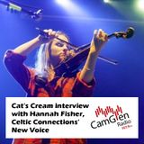 Cat's Cream interview with singer and fiddler Hannah Fisher, 8 Feb 2017