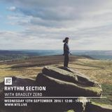 Rhythm Section w/ Bradley Zero - 14th September 2016