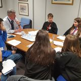 Llais Ni and Pupils of Secondary Schools question Anglesey County Council on the proposed £3m cuts