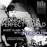 INTROCUT - KEXP 90.3 FM Midnight in a Perfect World Guest DJ MIx