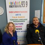 Acupuncturist and Oriental Practitioner Dheai and his client Carmel Hogan on Eastern medicine