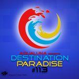 aQuaLuna – Destination Paradise 113 (28-10-2016)