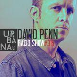Urbana Radioshow con David Penn Capítulo #316 - ESPAÑOL