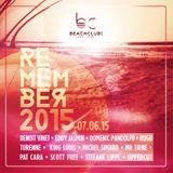 JUNE 21 - REMEMBER 2015 @ BEACH CLUB Canada