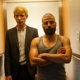 Interview with Ex_Machina writer/director Alex Garland and actor Domhnall Gleeson at IFI, Jan 19