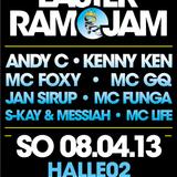 Jan Sirup, S-kay & Messiah with Life & Funga // Easter Ram Jam Heidelberg // 08.04.2013