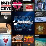 DEEPINSIDE RADIO SHOW 048 (Steven Stone Artist of the week)