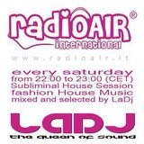 "Silvia Riolo LaDj ""Subliminal House Session on Radio Air"" 03-12-2011 RADIO SHOW"