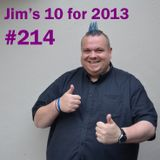 Jim Gellatly's New Music episode 214 - 10 for 2013