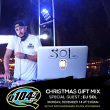 Dj Sol - Q1047 Christmas Gift Mix (Dec 2015)