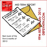 Doncaster Electronic Foundation Radio - 6th July 2015 - Top 10 of the year so far