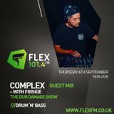 Friskie flex fm 6/9/2018 (dj complex guest mix)