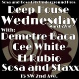 El Rubio - Deep House Wednesday Portland Oregon 22/03/2017