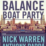 Anthony Pappa - Live at Balance Boat Party, Melbourne (04-04-2014)