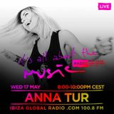 Anna Tur - It's all about the music promo - May 2017