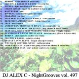 DJ ALEX C - Nightgrooves 497 nu disco  (filatov, Andreid, Sharapov, Andrey exx tribute) 2019