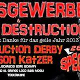 Nelson Katzer - Abriss Gewerbe vs Mental Destruction Special 2013 @ Mikroport Krefeld (28.12.2013)