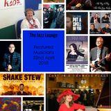 The Jazz Lounge Radio Show on K107fm Community Radio with Grace Black 22nd April 2018