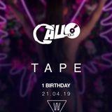 TAPE - BANK HOLIDAY SUNDAY | WAIKIKI 1ST BIRTHDAY EVENT - HOSTED BY DJ CALLO LIVE MIX