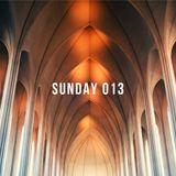 Sunday Podcast / 013