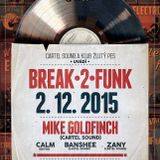 Break 2 Funk Live in klub Žlutý pes