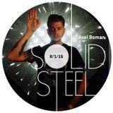 Solid Steel Radio Show 8/1/2016 Hour 1 - Axel Boman