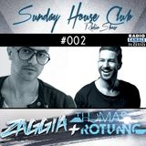 SUNDAY HOUSE CLUB @ Radio Canale Italia #002 | ZAGGIA + THOMAS ROTUNNO | free download
