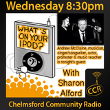 What's on your iPod? - @ingeniusrock - Sharon Alford - 03/09/14 - Chelmsford Community Radio