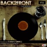 Back2Front Live Sessions Show #16 Guest Mix By Cobar [ QBHS ]