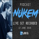PODCAST_NUKEM_Live Set recorded @ OHM10 club_ 12 June 2016