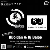 RDoldán & DjBaloo Episodio1 @ Experimental Tv Radio (27-06-2019)