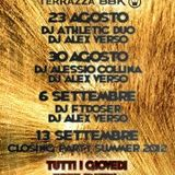 Alessio Collina@Thunder Club 30/08/2012