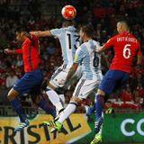 Chile 1-2 Argentina - Clasificatorias Copa del Mundo Rusia 2018