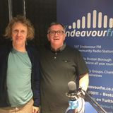 Grayson Perry comes in for a chat with Stu Davidson