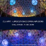 CJ Art @ Uroczysko Open Air 2018 - Chill Stage (11.08.2018)