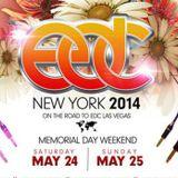 Ummet Ozcan - Live @ Electric Daisy Carnival (EDC New York) - 25.05.2014
