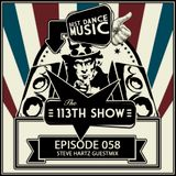 The 113th Show 058 - Steve Hartz Guestmix