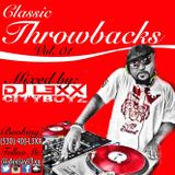 Classic Throwbacks Vol.01