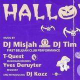 "DJ Tim & T-Quest at ""Halloween"" at Cherry Moon (Lokeren - Belgium) - 10 November 1996"