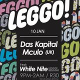 Mculo (FADED//UK) - Live @ LEGGO! - 10 Jan 2013 (Set #1)