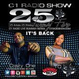 C1 Radio Show #25in25 Week 19 - Royce Lovett