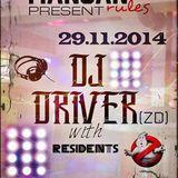 DJ Driver - live @ Mangan Rules  29.11.2014.