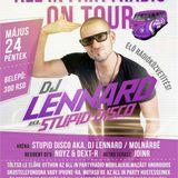 Dj Lennard aka Stupid Disco live @ All In Party On Tour - Atlantis Garden Club - 2013.05.24.