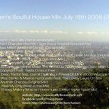 Ben's Soulful House Mix 3 *July 18th 2008)