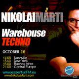 "Nikolai Marti - ""Warehouse Techno"" on www.EssentialFM.eu 10.26.2012"