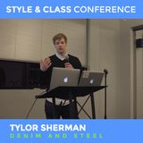 "Tylor Sherman – ""Out in the Open' talk at Style and Class Conference"