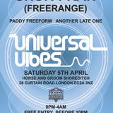 Shur-I-Kan in the mix/ Universal Vibes Horse and Groom 5th April