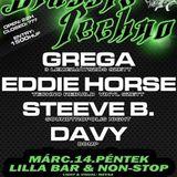 Eddie Horse @ Classic Techno Night [Vinyl Set] Lilla Bár - 2014.03.14.