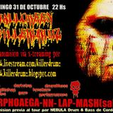 LAP @ Killer Drumz Xtreaming Halloween (live DNB sampler set) 31 october 2010