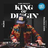 MURO presents KING OF DIGGIN' 2018.11.21『DIGGIN' 和レゲエ』